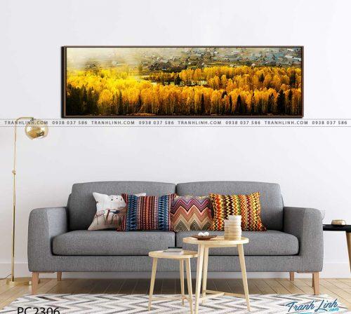tranh canvas phong canh 2306