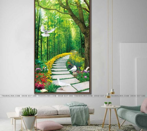 tranh canvas phong canh 2315