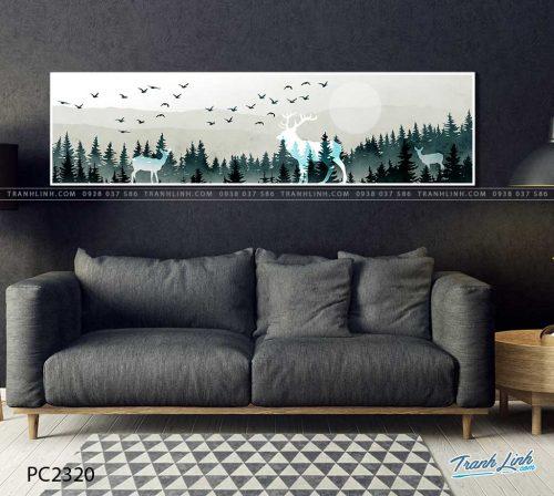 tranh canvas phong canh 2320