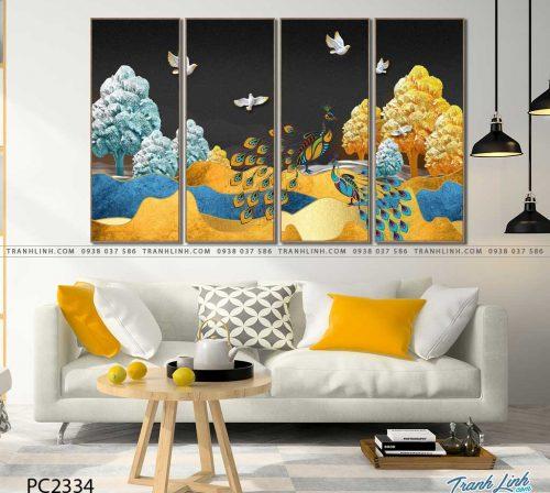 tranh canvas phong canh 2334