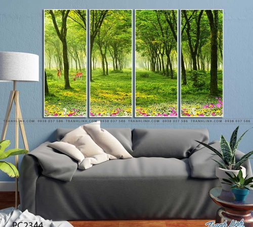 tranh canvas phong canh 2344
