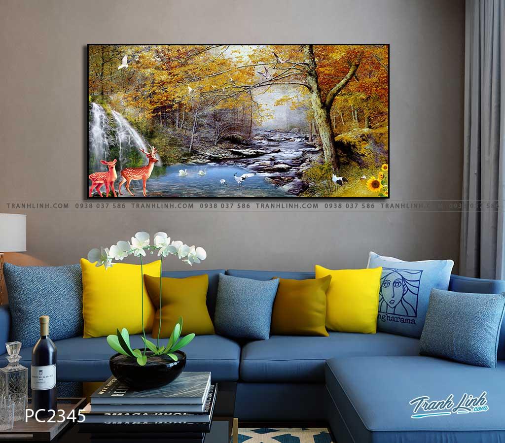 tranh canvas phong canh 2345