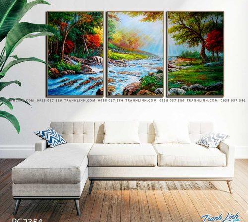 tranh canvas phong canh 2354