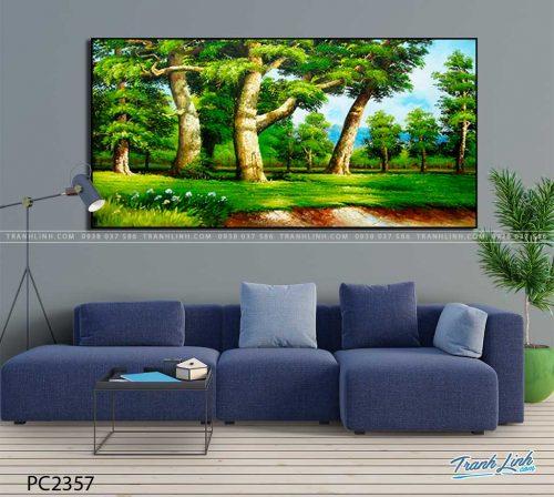 tranh canvas phong canh 2357