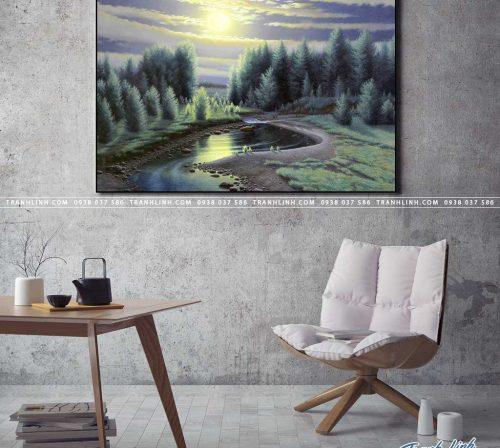 tranh canvas phong canh 2358
