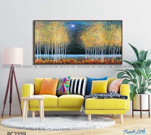 tranh canvas phong canh 2359