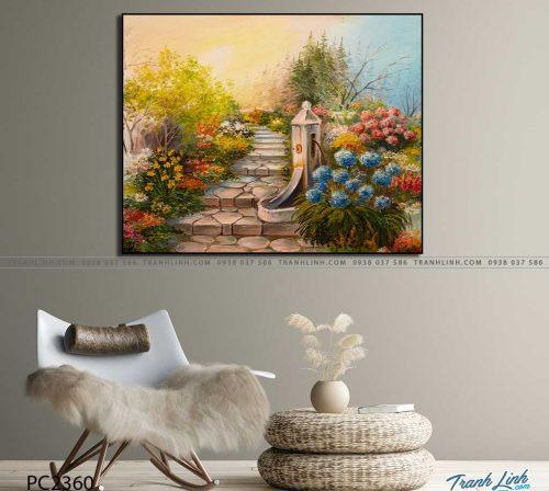 tranh canvas phong canh 2360