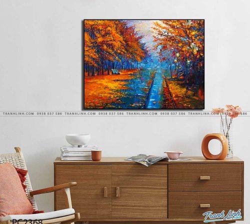 tranh canvas phong canh 2368