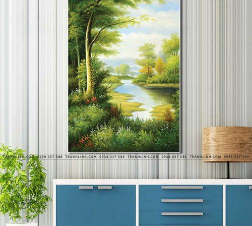 tranh canvas phong canh 2373