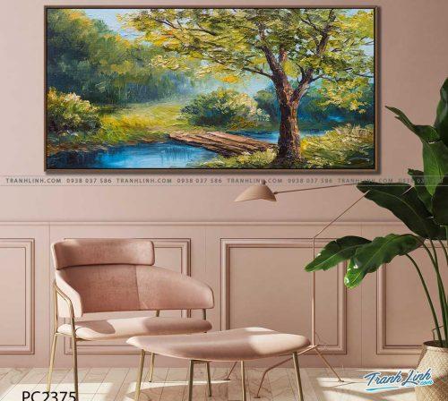 tranh canvas phong canh 2375