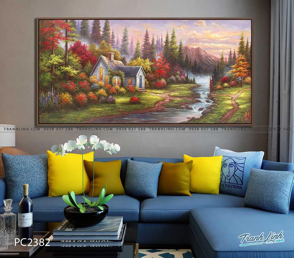 tranh canvas phong canh 2382