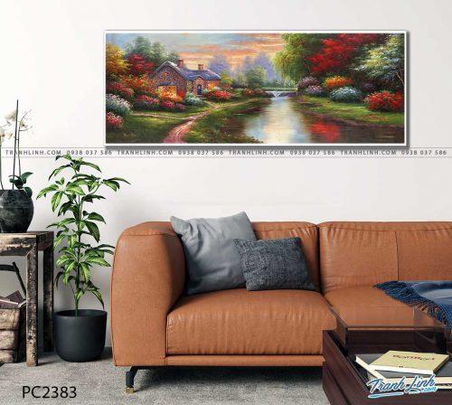 tranh canvas phong canh 2383
