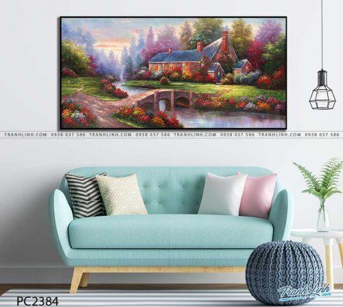 tranh canvas phong canh 2384