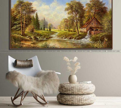 tranh canvas phong canh 2388