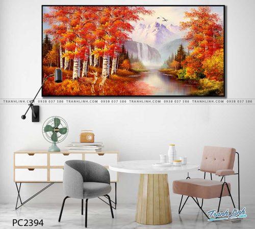tranh canvas phong canh 2394