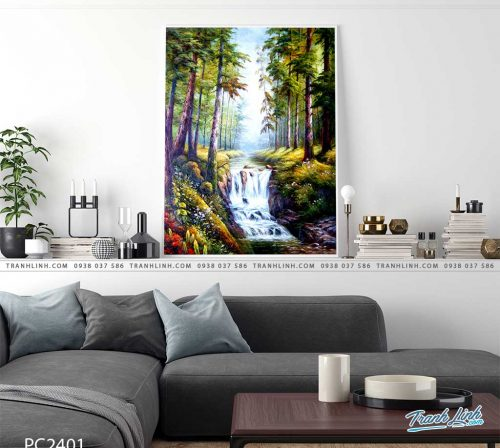 tranh canvas phong canh 2401