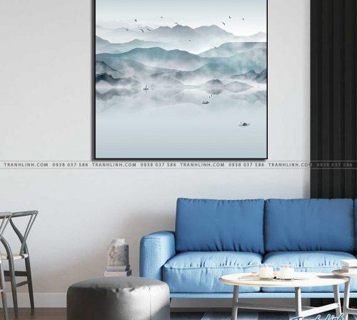tranh canvas phong canh 2414