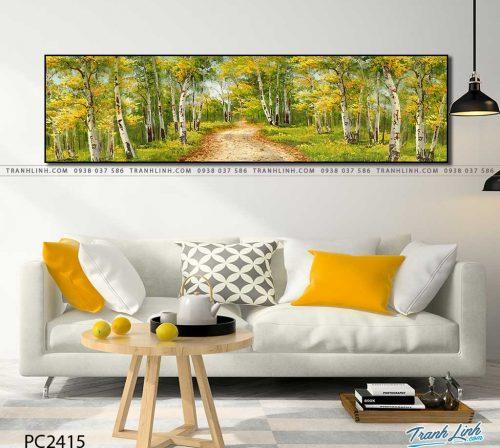 tranh canvas phong canh 2415