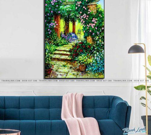 tranh canvas phong canh 2416