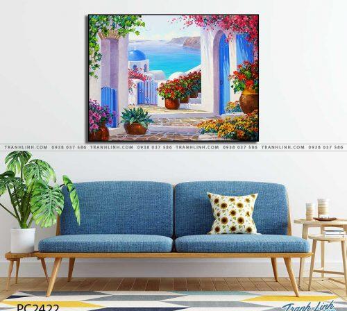 tranh canvas phong canh 2422