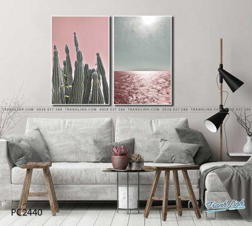 tranh canvas phong canh 2440