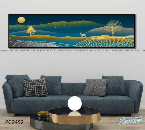 tranh canvas phong canh 2452