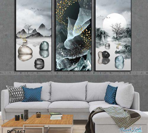 tranh canvas phong canh 2467