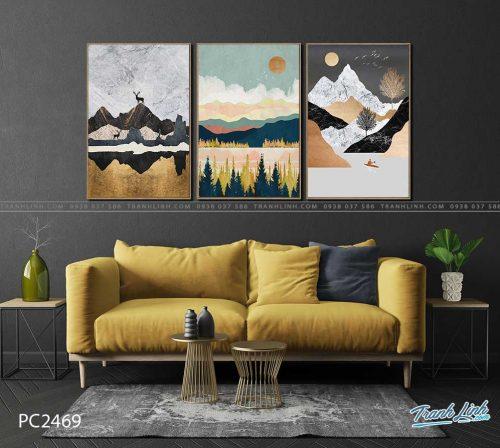 tranh canvas phong canh 2469