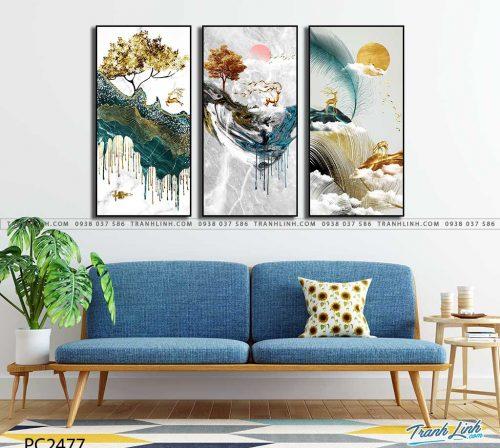 tranh canvas phong canh 2477