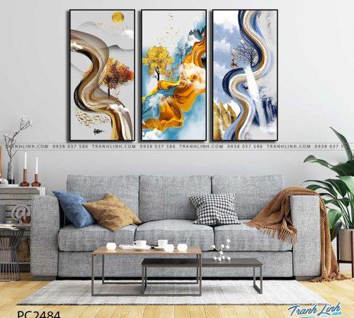 tranh canvas phong canh 2484