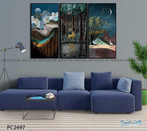 tranh canvas phong canh 2497