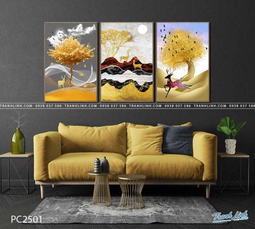 tranh canvas phong canh 2501