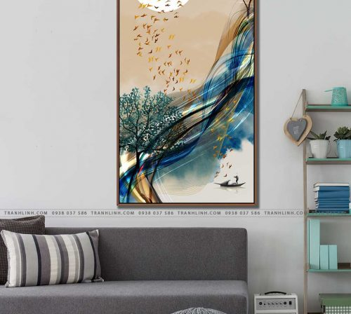 tranh canvas phong canh 2506
