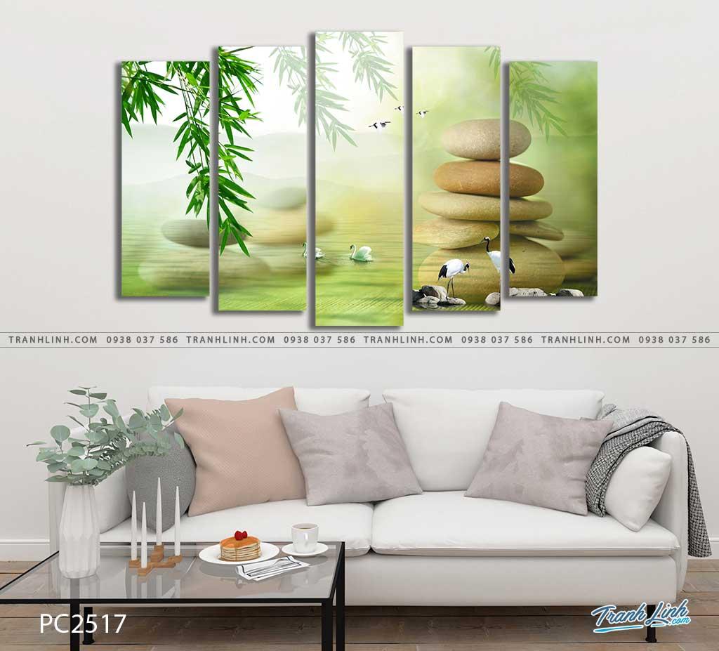 tranh canvas phong canh 2517