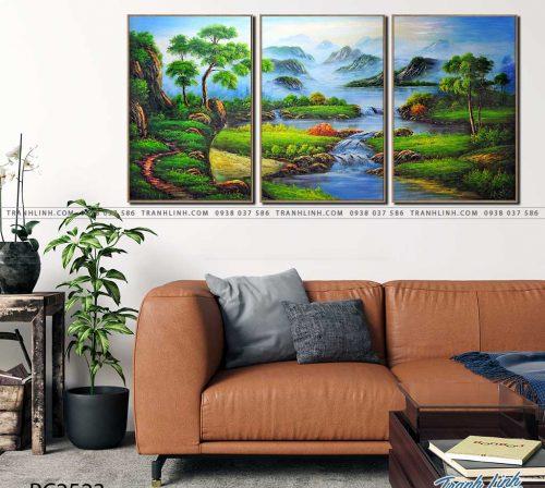 tranh canvas phong canh 2523