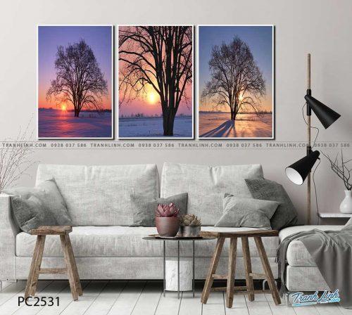 tranh canvas phong canh 2531