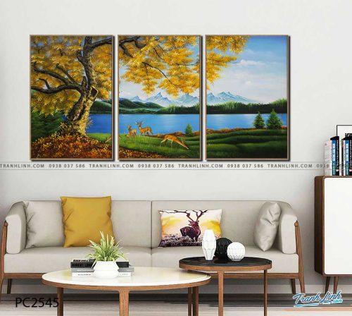 tranh canvas phong canh 2545