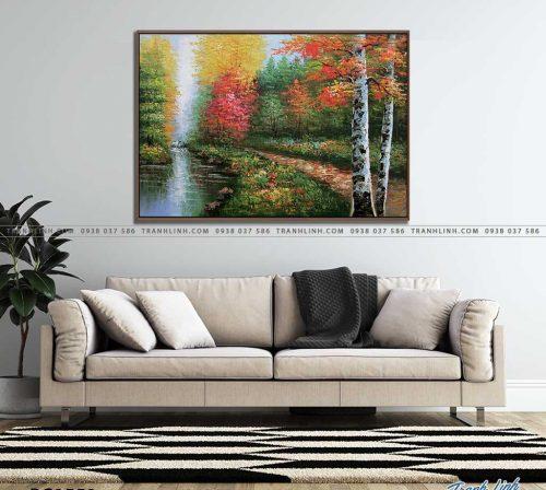 tranh canvas phong canh 2552