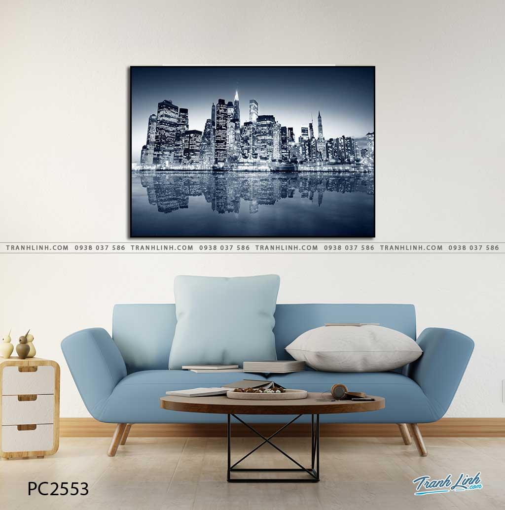 tranh canvas phong canh 2553