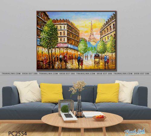 tranh canvas phong canh 2554