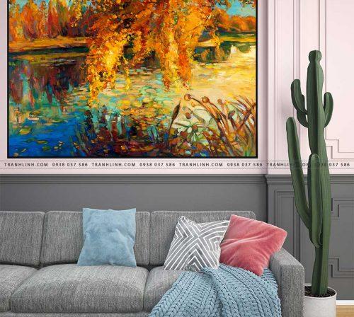 tranh canvas phong canh 2560