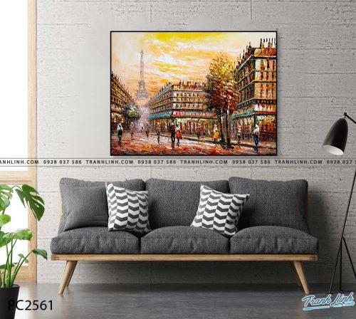 tranh canvas phong canh 2561