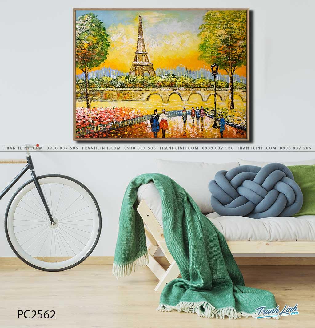 tranh canvas phong canh 2562