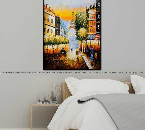 tranh canvas phong canh 2563
