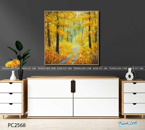 tranh canvas phong canh 2568