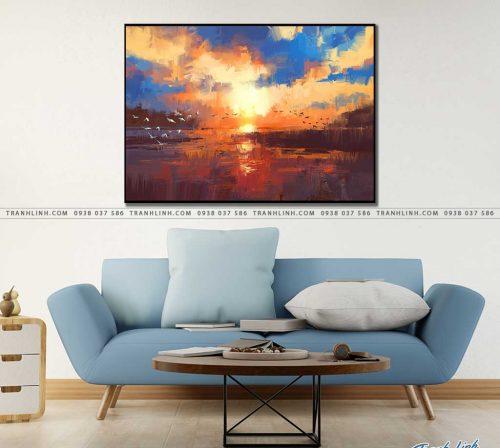 tranh canvas phong canh 2571