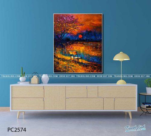 tranh canvas phong canh 2574