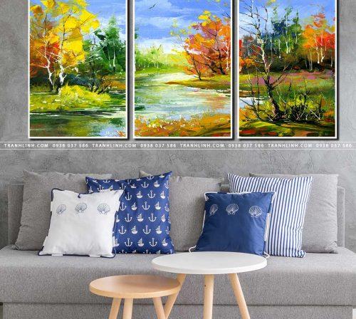 tranh canvas phong canh 2580