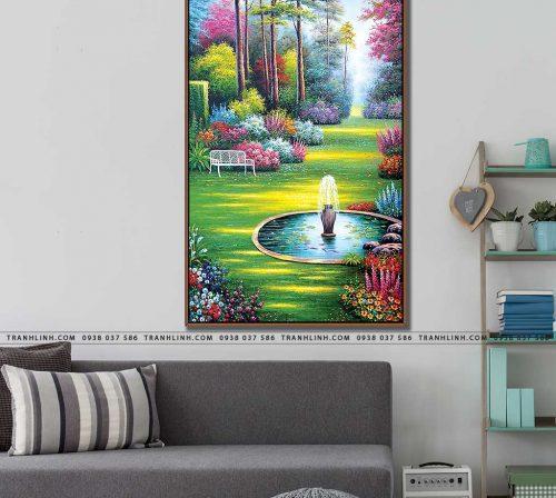 tranh canvas phong canh 2581