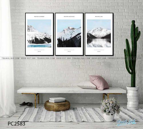 tranh canvas phong canh 2583